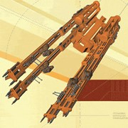 Установка БУКС-1У5 для бурения шпуров и имеет винтовой исполнительный механизм подачи и распора фото