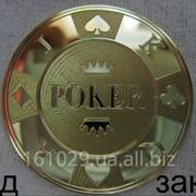 Покерная фишка фото