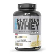 VPLab 100% Platinum Whey 2,3 кг., Клубника-банан. Сывороточный протеин. фото