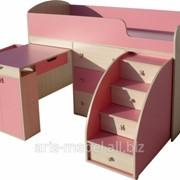Детская кровать-чердак Малыш фото