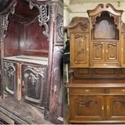 реставрация мебели  дверей лестниц паркета фото