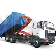 Услуги вывоза контейнеров и компакторов мультилифтом фото