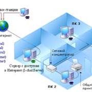 Монтаж локальної комп'ютерної мережі фото