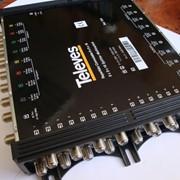 Мультисвитч проходной с конфигурацией 9x9x16 для ТВ-сигнала 170-2250 МГц 7341 фото