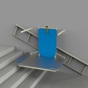Наклонный (лестничный) подъёмник электрический фото