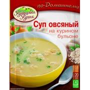 Суп овсяной на курином бульоне 60 г фото