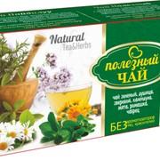 АРОМАТНЫЙ (зеленый) Полезный чай 25ф/п * 2г фото