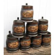 Кружки пивные деревянные фото