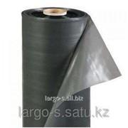 Пленка полиэтиленовая 200 мкр 1,5м * 50м техническая фото