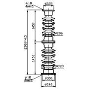 Изолятор С8-1300-II-М УХЛ1 фото