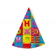 Колпак С Днем Рождения Мозаика 6 шт G фото