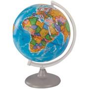 Глобус политический, 25 см, на круглой подставке (Глобусный мир) фото