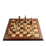 Шахматы Бастион махагон люкс фото