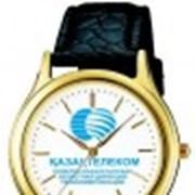 Часы в вашим логотипом фото