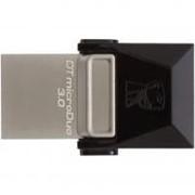 USB флеш накопитель Kingston 64GB DT microDuo USB 3.0 (DTDUO3/64GB) фото