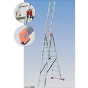 Аренда трехсекционной лестницы Krause Tribilo (7 метров) фото