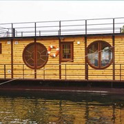 Дом на воде (дома плавучие, плавдачи, плавающие дома) фото