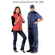 Жилет рабочий утепленный, арт. 002-0832 фото