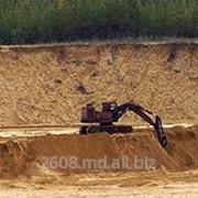 Строительный песок фото