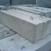 Блоки и балки фундаментные фото