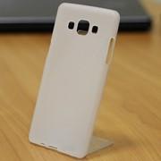 Чехол силиконовый матовый для Samsung Galaxy A5 белый фото