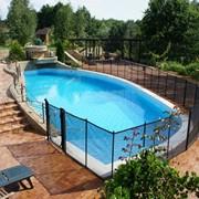 Детский забор для бассейна 1,2 метра фото