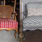 Замена обивки мягкой мебели фото