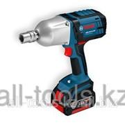 Аккумуляторный ударный гайковёрт GDS 18 V-LI HT Professional Код: 06019B1303 фото