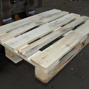 Поддон деревянный новый, евростандартный с термообработкой фото
