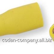 556360 Клеммы МАМА обжимные полностью изолированные ТМ Berner, желтые, 6,3х0,8 мм фото