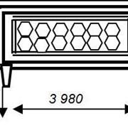 Панель железобетонная П 6 ВК 3980х2200х700 фото