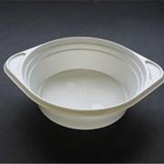 Суповая миска, белая фото