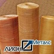 Сетка тканая латуневая 4 Н ГОСТ 6613-86 4х4х1 из полутомпака Л80 Л-80 Сетки латунные тканые фото