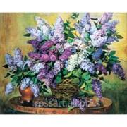 Картина на холсте Цветы Сирень krt37 фото
