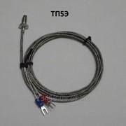 Термопара ТП5Э, тип ТХА, type K, +600 градусов, экранированная фото