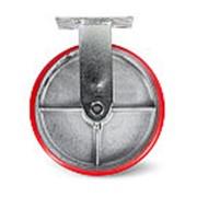 Колесо большегрузное неповоротн. PU TOR (FCp 54) 125мм фото