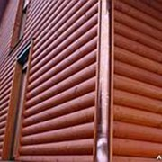 Сайдинг металлический, Мореный дуб, RAL 3011, м2 фото