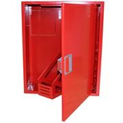 Пожарный шкаф ШПО-310 ВО евроручка встроенный, открытый фото