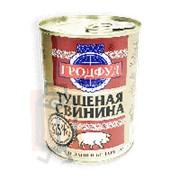 Консервы мясные тушенка СВИНИНА Гродфуд 338г ж/б фото
