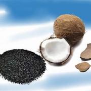 Активированный кокосовый уголь фото
