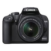 Фотокамера цифровая Canon EOS 1000D KIT 18-55 IS* фото