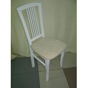 Стул ДОВБУШ белый тк.мика,фото белого стула,цена белого стула,белый деревянный стул,фото не дорогого стула,стулья на кухню,не дорогие стулья на кухню,цена не дорогого стула в гостиную,не дорогой деревянный стул,не дорогой стул с доставкой по Украине фото
