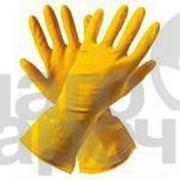 Перчатки резиновые Ваш бюджет s размер 6 1 пара 48820 фото