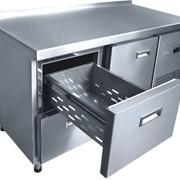 Холодильный стол для пиццы, оборудование холодильное, охлаждающая витрина, холодильная витрина купить оптом или в розницу фото