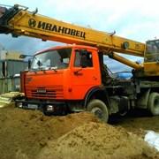 Услуги автокрана 25 тонн фото