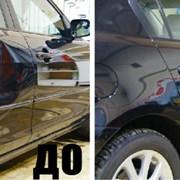 Ремонт вмятин и рихтовка кузова автомобиля фото