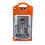 Зарядное устройство MP-709, 4 AA или 4 AAA или 2 Кроны фото