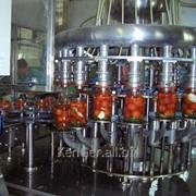 Комплект оборудования для консервирования овощных салатов, производительность (по банкам 650мл) 1100 шт/смену фото