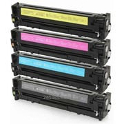 Картридж Hewlett Packard HP HP СP1215/1515 /Canon 716(CB540-3А) черный + цветные фото