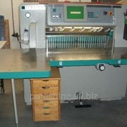 Бумагорезальная машина PERFECTA 92 TVC, бу - 2005 год фото